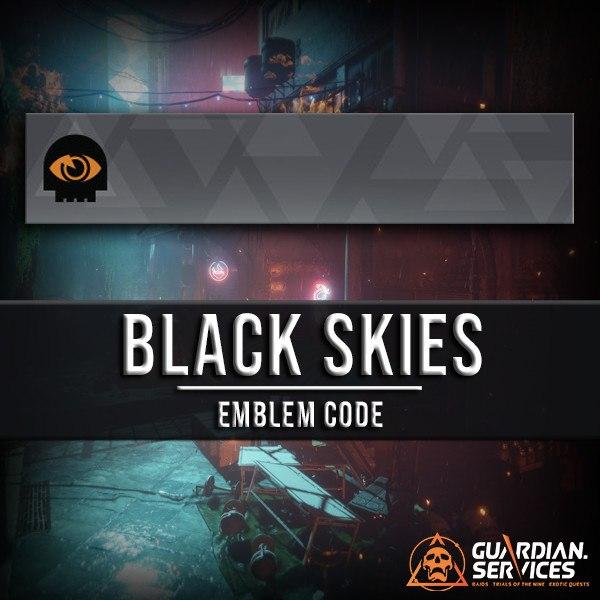Black Skies Emblem Guardian Services