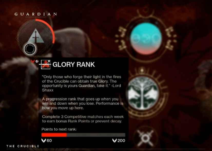 "Glory"" Rank PvP Boosting – DestinyMetaServices"
