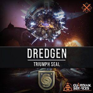 Destiny Dredgen Triumph Seal Service