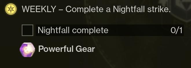 Destiny 2 Forsaken - 100k Nightfall Score