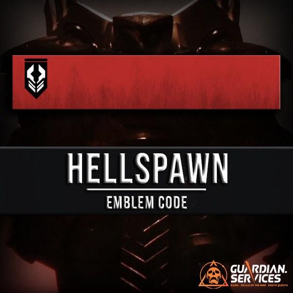 cdd2e90c72b Hellspawn Emblem - Guardian.Services