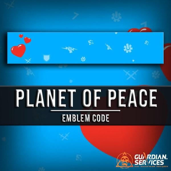 4089f1fdf8e Planet of Peace Emblem - Guardian.Services