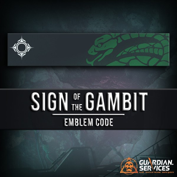 Sign Of The Gambit Emblem Guardian Services