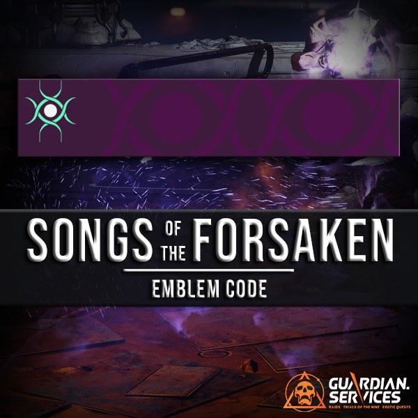 Songs Of The Forsaken Emblem Guardian Services
